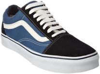 Vans Unisex Old Skool Black/White Skate Shoe 9.5 Men US / 11