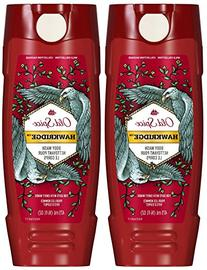Old Spice Wild Collection Hawkridge Scent Body Wash, 16