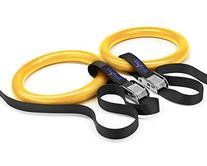 Yes4All Olympic Crossfit Gymnastic Rings with Flexible