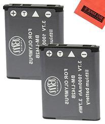 BM Premium 2-Pack Of LI-42B Batteries for Olympus Stylus
