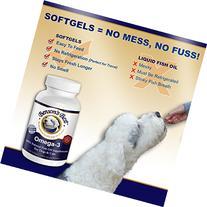Benson's Best Omega-3 Fish Oil for Dogs - Provides 43% More