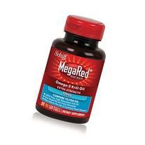 MegaRed 500mg Omega-3 Krill Oil Dietary Supplement