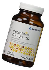 OmegaGenics� EPA-DHA 750 60 Softgels by Metagenics