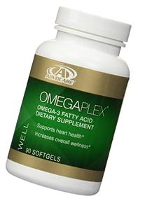 AdvoCare OmegaPlex Fatty Acid Dietary Supplement, 90