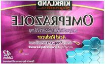 Kirkland Signature Omeprazole Delayed Release, Acid Reducer Tablets 20 mg, 42 Count
