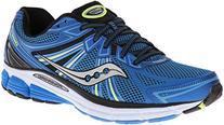 Saucony Men's Omni 13 Running Shoe,Blue/Citron,12 M US