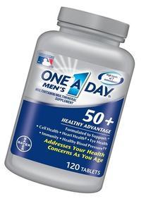 One A Day Men's 50 Plus Advantage Multi-Vitamins, 400 Count