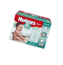 Huggies One & Done Refreshing Baby Wipes , 864 ct