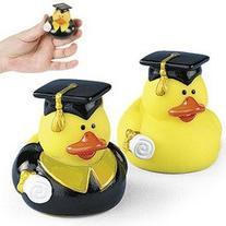 One Dozen  Graduation Graduate Rubber Ducky Duck Party
