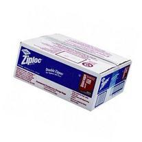 Ziploc Double Zipper Plastic Storage Bags, 1 Gallon, Case of