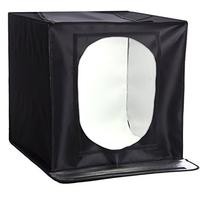 """StudioPRO All In One LED Product Photo Light Kit 24"""" Cube"""