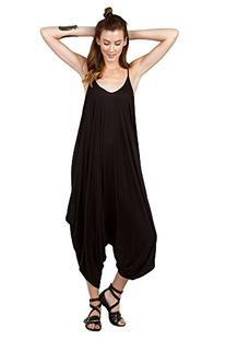 Women All In One Romper Spaghetti Strap Beach Harem Jumpsuit