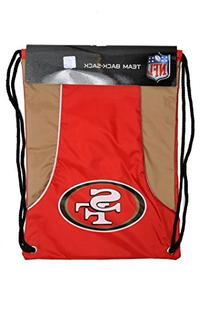 NFL San Francisco 49ers Axis Backsack, Red, Medium