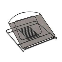 Onyx Adjustable Steel Mesh Laptop Stand, 12 1/4 X 12 1/4 X 1