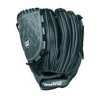 Wilson Onyx Outfield/Pitcher Fastpitch Softball Glove, Black