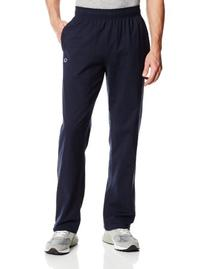 Champion Men's Open Bottom Light Weight Jersey Sweatpant,