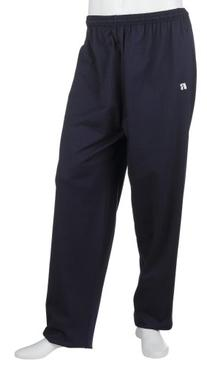 Russell Athletic Men's Athletic Open-Bottom Pant, Navy,