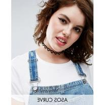 ASOS CURVE Open Hearts Choker Necklace