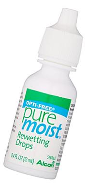 Opti-Free Puremoist Rewetting Drops, 12 ml, 0.4 Ounce