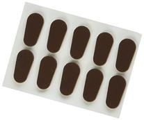 GMS Optical Soft Foam Nose Pads - Coffee Color
