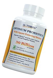 Dr. Tobias Probiotics: 30 Billion with Delay Release & Spore
