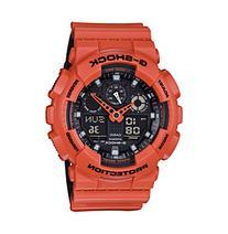 G-Shock Men's Orange Analog-Digital Watch with Layered Resin