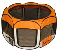 Orange Pet Dog Tent Puppy Playpen Exercise Pen Kennel S by