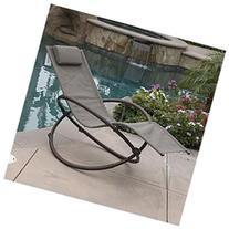 Bellezza Orbital Folding Zero Lounger Chair Outdoor Patio