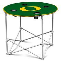 NCAA Oregon Ducks Round Tailgating Table
