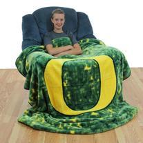 College Covers Collegiate Print Throw Blanket / Bedspread