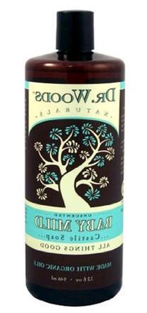 Dr. Woods - Organic Castile Soap Baby Mild Unscented - 32 oz