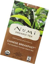 Numi Organic Tea--Chinese Breakfast, Full Leaf Black Tea, 18