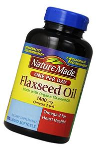 Nature Made Organic Flaxseed Oil 1400 mg Omega 3-6-9