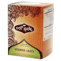 YOGI Organic Green Chai Tea 16 BAG