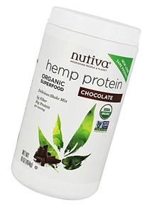 Nutiva Organic HempShake, Chocolate, Superfood Drink Mix, 16