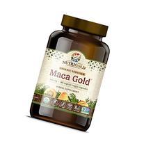 NutriGold #1 Organic Maca Root Powder Capsules - Maca Gold,