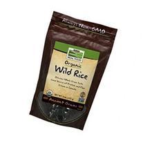 Organic Wild Rice Now Foods 8 oz Bag