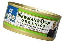 Newman's Own Organics Turkey Grain-Free Food for Cats, 5.5-