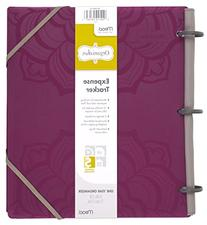 Mead Organizher Expense Tracker, 8.5 x 11 Inches, Purple