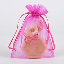 "Organza Drawstring Gift Bag 8 x 12 inches 8""x12"