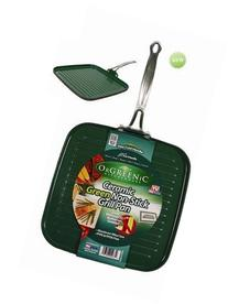 TeleBrands 6644-6 OrGreenic Square Grill Pan Pack Of 6