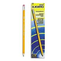 Dixon Oriole Woodcase Pre-Sharpened Pencil, HB #2, Yellow