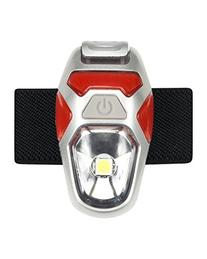 Nathan Orion Strobe Reflective Gear, Fiery Red/Silver
