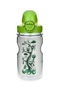 Nalgene Kids OTF with Green Cap Water Bottle ,12 oz