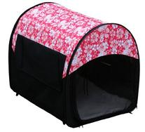 Outward Hound Kyjen   Mobile Home Crate, Hibiscus, 24 x 19.