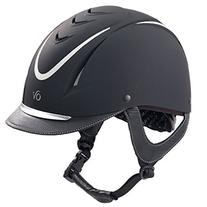 Ovation Z-6 Glitz Helmet Small/Medium Black/Silver
