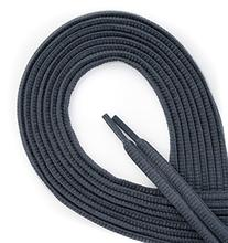 OrthoStep Oval Athletic Dark Gray 40 inch Shoelaces 2 Pair
