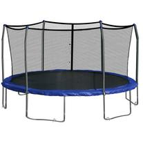 Skywalker SWTC17BWS Oval Trampoline and Enclosure with Wind