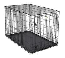 Ovation Trainer Double Door Dog Crate Size: 48
