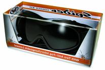 Over Glasses Motorcycle Goggles - Shatterproof Polycarbonate